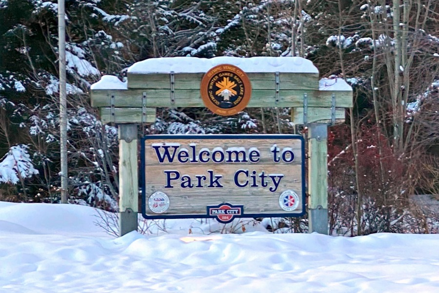 Park City Mountain Utah Sign