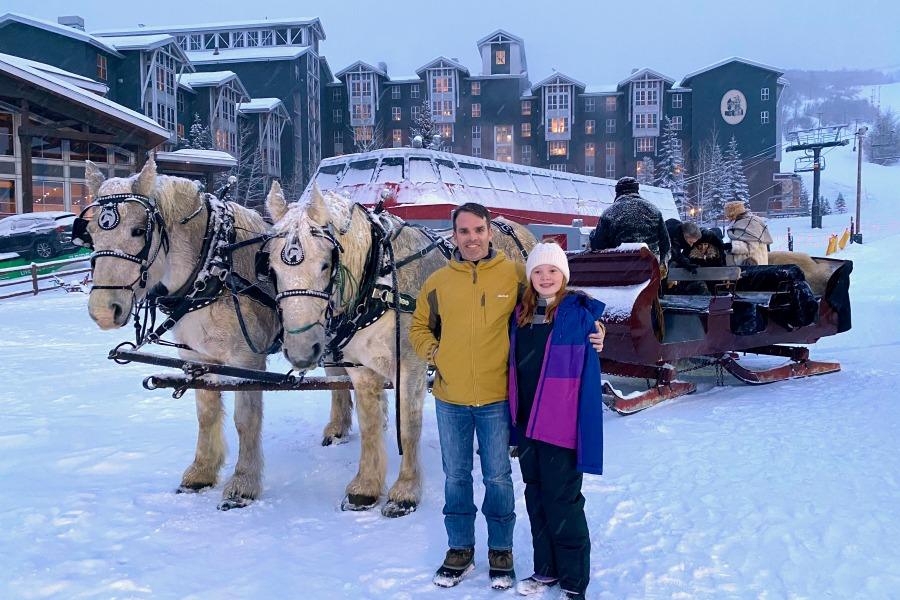 Park City Mountain Utah Sleigh Ride Marriott MountainSide