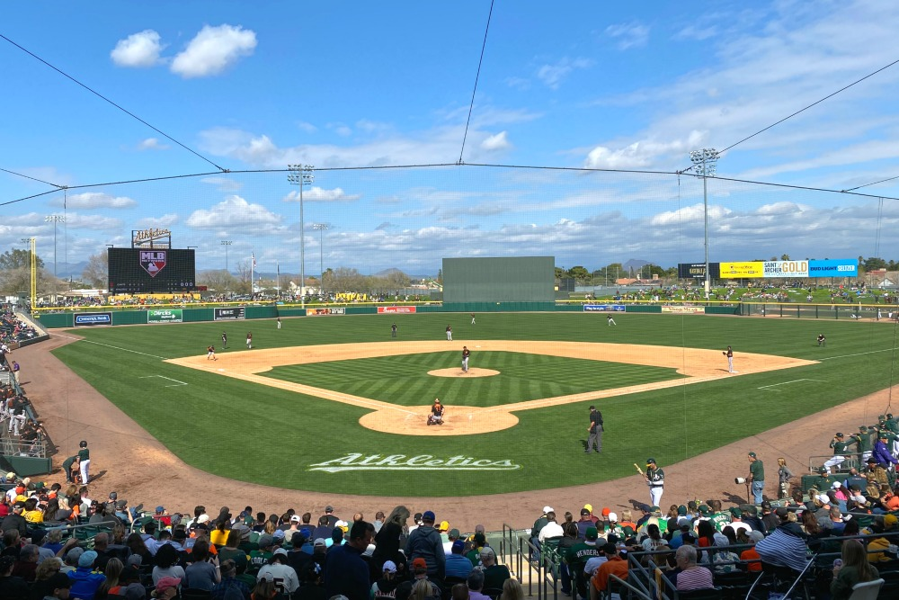Cactus League Spring Training Hohokam Stadium