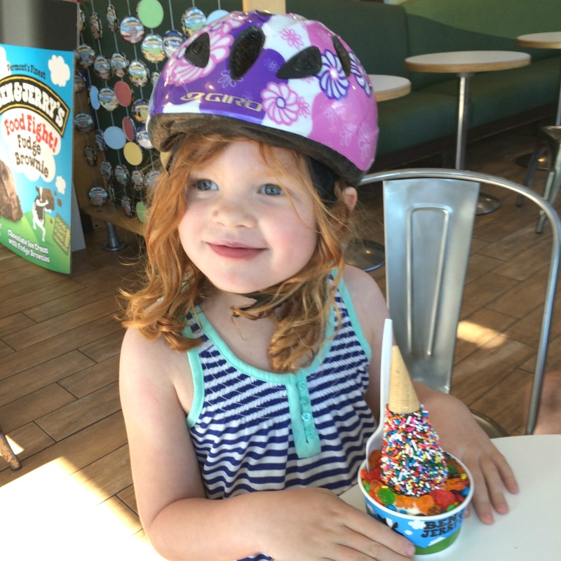 College Towns to Visit with Kids - Burlington Vermont Ben and Jerrys Ice Cream