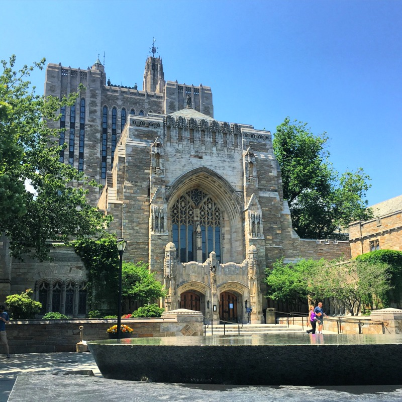 College Towns to Visit with Kids - New Haven Sterling Library Yale