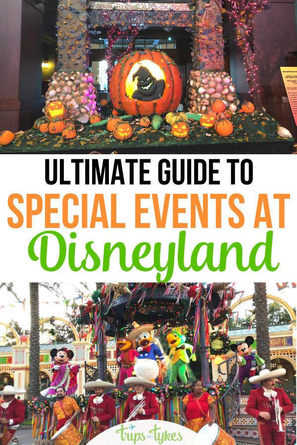 The ultimate guide to Disneyland's many special events, seasonal celebrations, and holiday festivals. Find out what is offered in Anaheim, California each season of the year to help pick the best time for a visit!