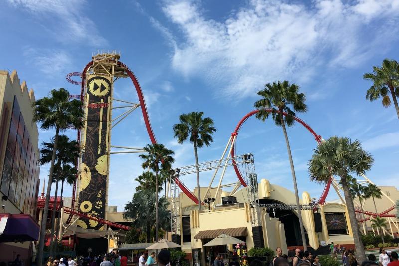 Universal Orlando for Disney Fans - Hollywood Rip Ride Rockit