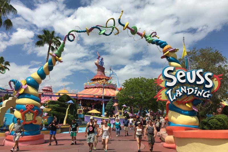Universal Orlando for Disney Fans - Seuss Landing