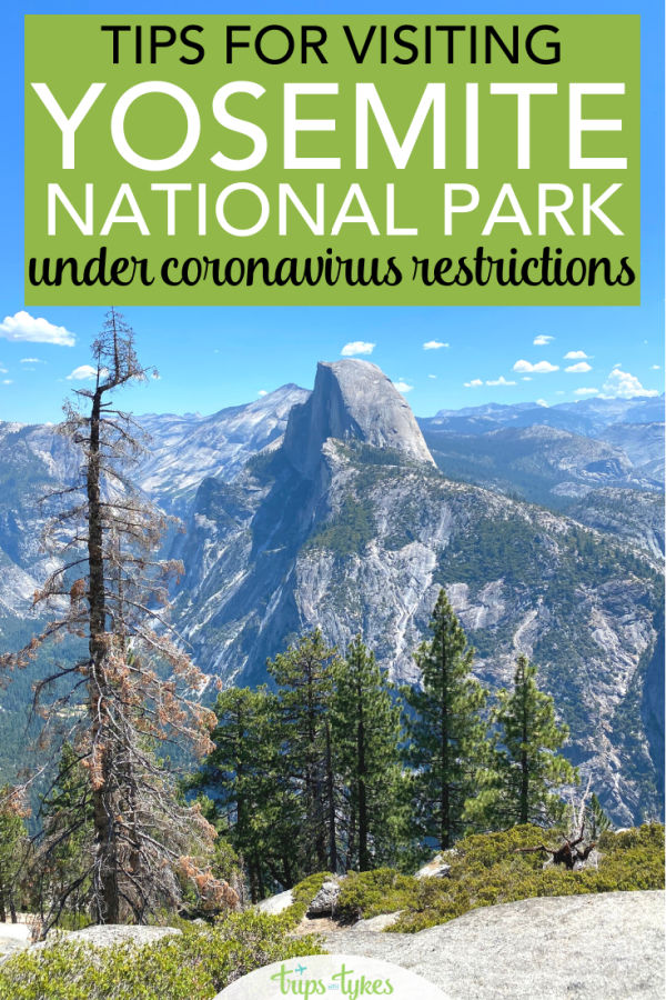 Yosemite National Park in California has reopened in summer of 2020 under coronavirus rules and restrictions. What it's like to visit during this limited capacity time plus tips for what to do and how to stay safe at Yosemite.