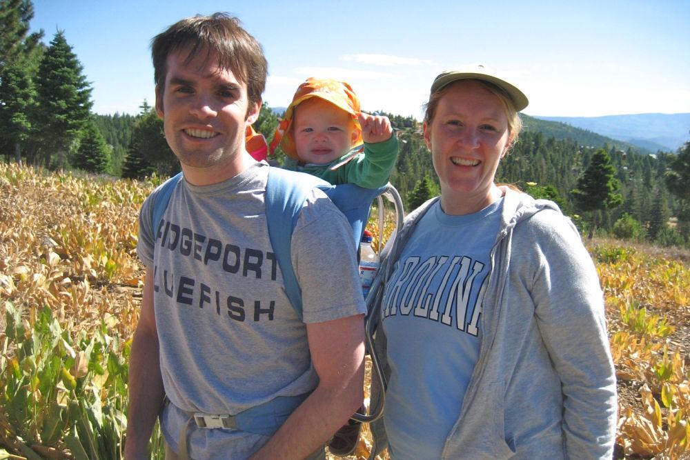 Hiking with a Baby Near Lake Tahoe