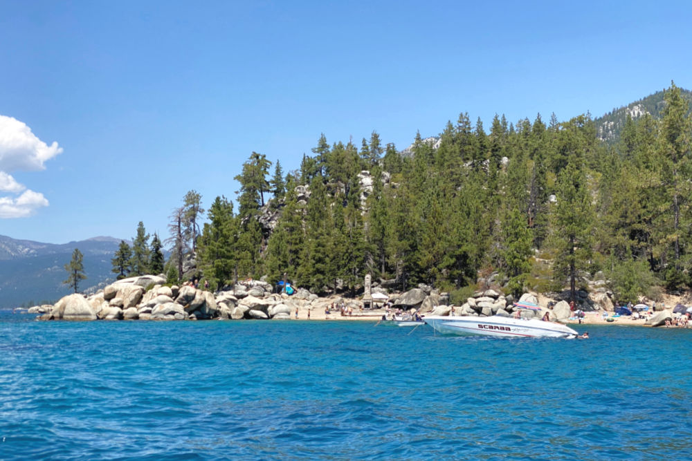 Lake Tahoe Chimney Beach