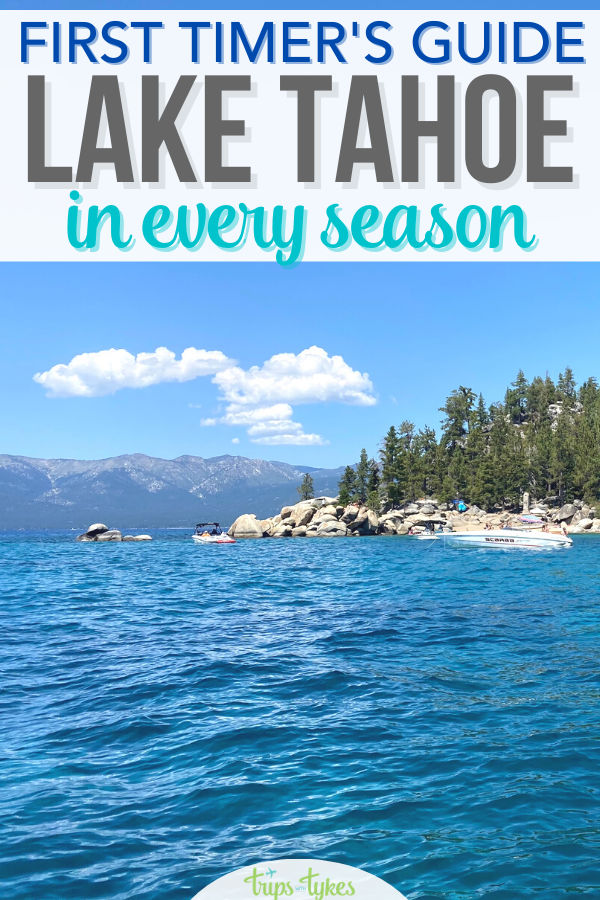 Traveling to Lake Tahoe in California and Nevada? Whether you are visiting to ski in winter or hit the beach in summer, this first timers guide to the Lake Tahoe area has all the top tips. Where to stay, closest airports, and top things to do.