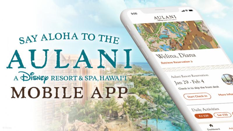 Aulani Mobile App