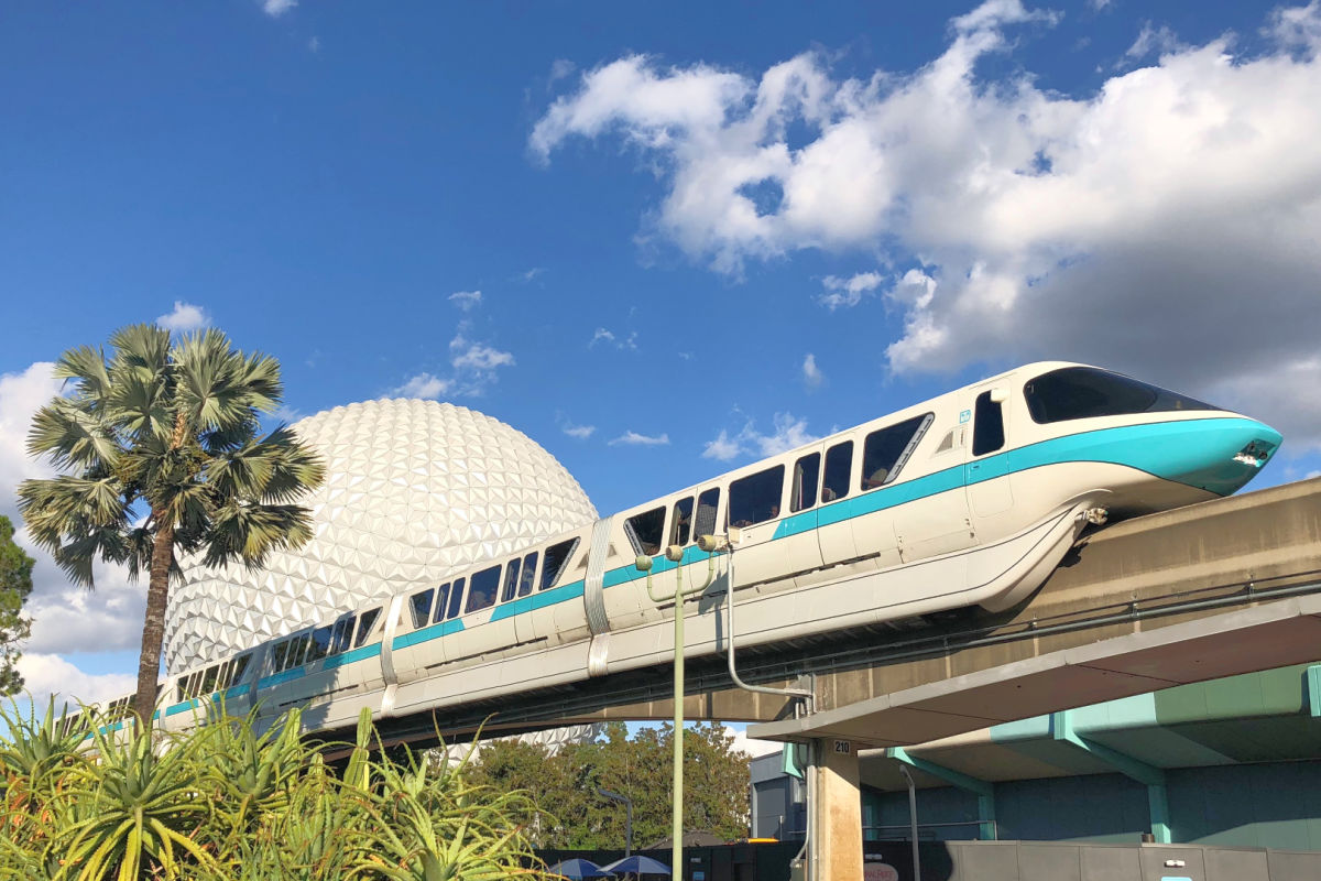 Disney World Transportation - Epcot Monorail