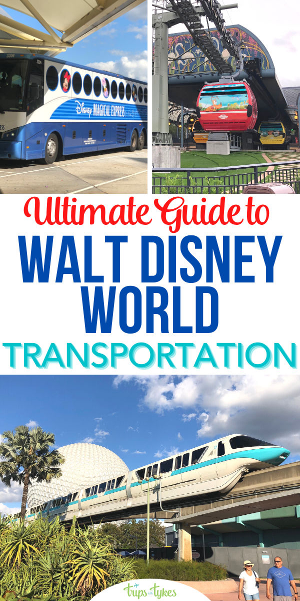 Planning a Walt Disney World vacation? Find out how to get around in this complete transportation and transit guide covering monorails, the new Disney Skyliners, shuttles, ferries, rental cars, ridesharing, and more. Plus, tips for transportation modifications specific to 2020-2021's limited capacity reopening.