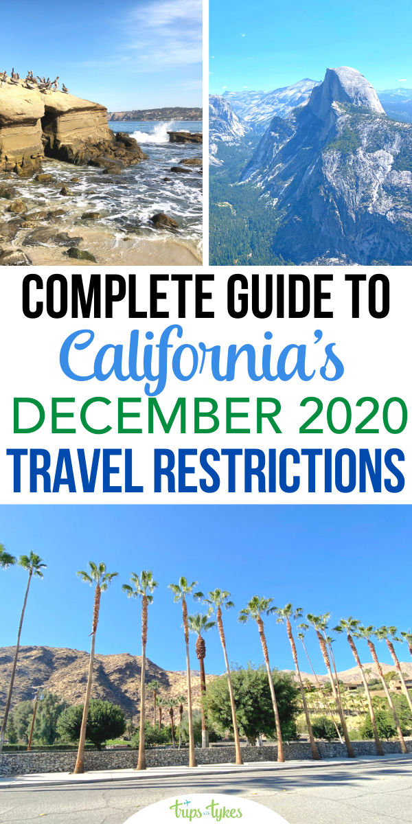 California has a new stay-at-home order as of December 2020. What does this mean for travel? A deep dive into specific changes and restrictions that apply to hotels, vacation rentals, ski resorts, theme parks, airports, and many other tourist attractions!