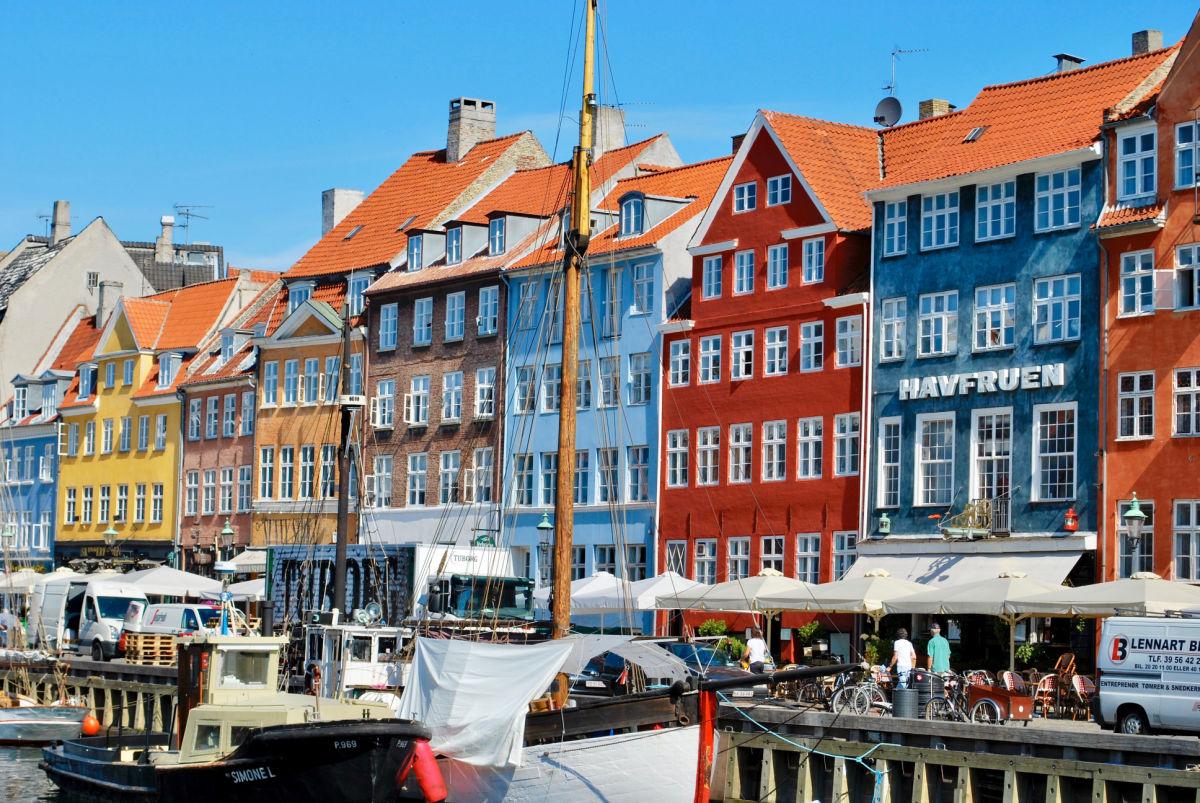 Copenhagen Denmark Nyhavn