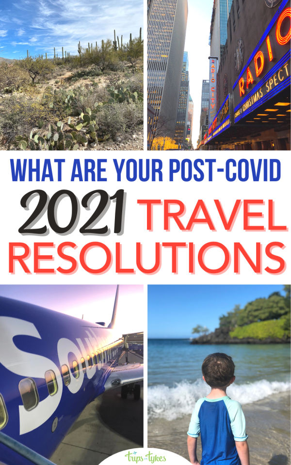 2021 is finally here! Travel was transformed pretty radically in 2020. How will you resolve to travel differently in 2021? What changes in priorities do you have? Here are some common 2021 travel resolutions many of us will have.