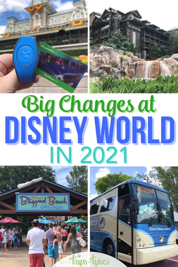 Park hopping is back, the 50th anniversary is coming, and Disney's Magical Express is ending its transportation run. Find out all about the major changes and new additions coming in 2021 to Walt Disney World in Orlando, Florida.