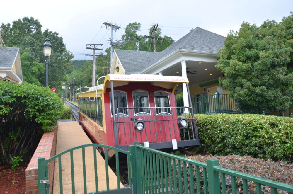 Incline Railway on Chattanooga's Lookout Mountain
