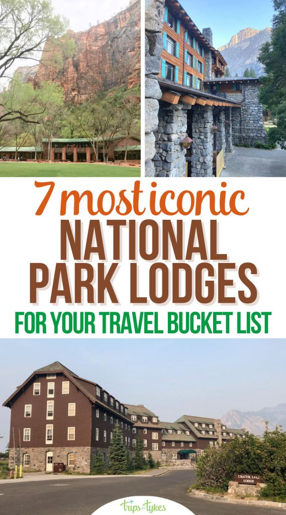 Visiting America's national parks?These top 7 national park lodges are well-located hotels full of history, from the Ahwahnee in Yosemite to Old Faithful Inn at Yellowstone. Plus tips for staying in national park lodges for the best vacation experience.