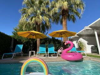 Palm Springs Pool with Floats
