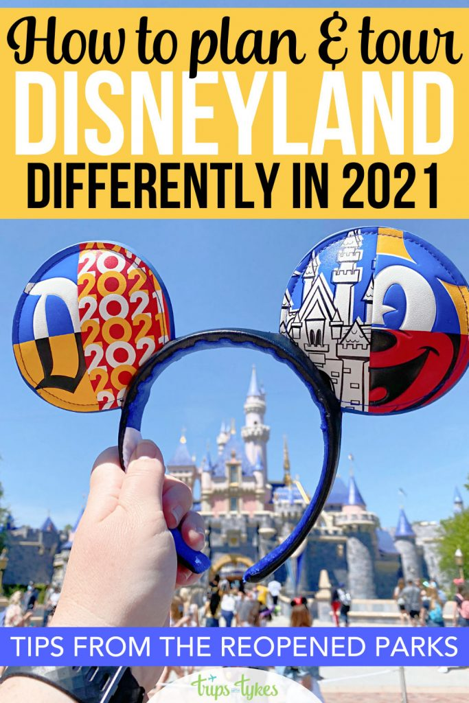 Headed to a reopened Disneyland in 2021? Your planning and touring strategies need to change for the many differences in place right now! These essential tips from the first days the parks opened will help you navigate ride wait times and lines, limited restaurant availability, tickets and reservations, new character meet and greets, and more.