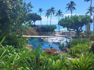 Pool in Maui Hawaii at Hyatt Regency Maui
