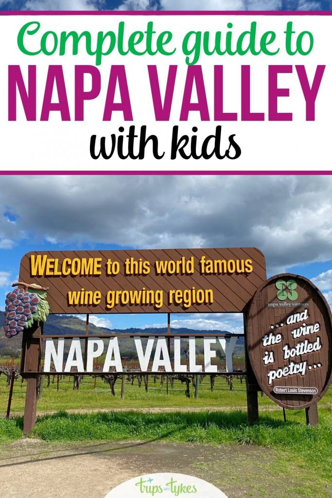 Visiting California's Napa Valley with kids? Top things to do and places to stay, including family-friendly wineries in Napa, Yountville, St. Helena, Calistoga and beyond.