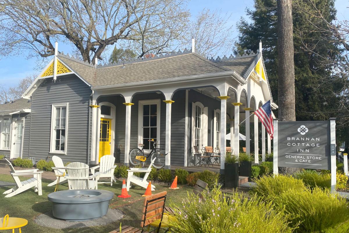 Brannan Cottage Inn and Sam's General Store Calistoga Californai