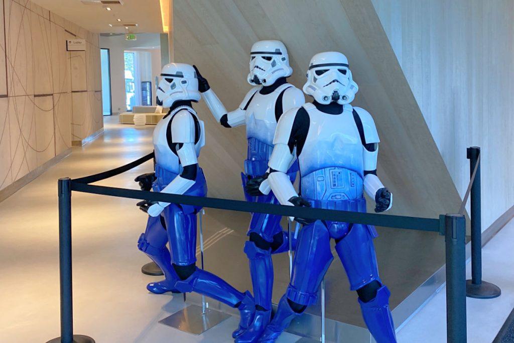 Radisson Blu Anaheim - Stormtroopers in Lobby