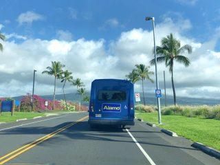 Alamo Rental Car Shuttle in Hawaii