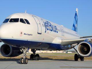 JetBlue Plane Closeup