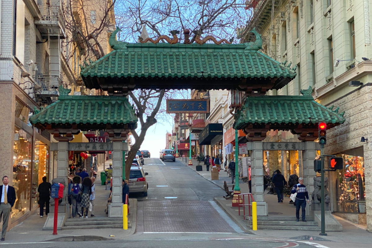 Chinatown Gate in San Francisco