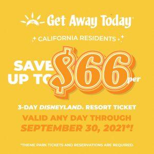 Get Away Today California Resident Summer 2021 deal