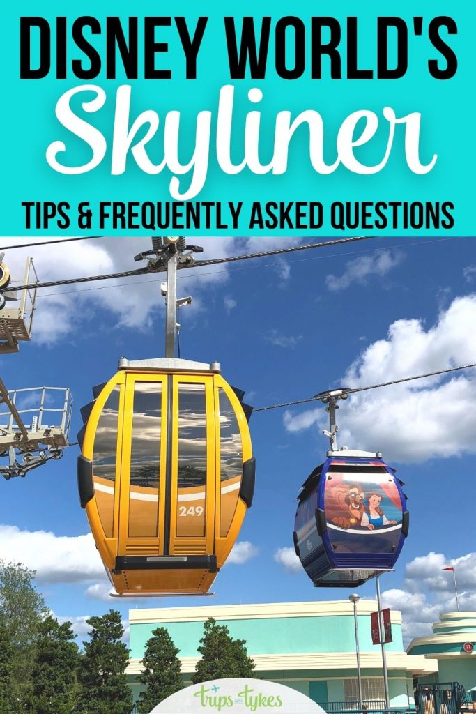 Want to ride Walt Disney World's newest transportation system, the Disney Skyliner? Read this FAQ and guide first to learn about the logistics and hours of operation, the hotels and parks it serves, and plenty of Skyliner tips and tricks.