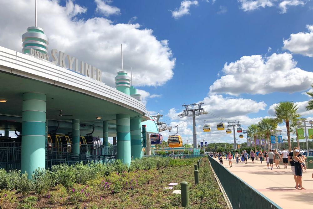Disney Skyliner Hollywood Studios Station