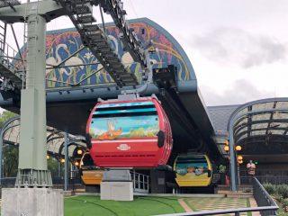 Disney Skyliner Wrapped Character Gondolas
