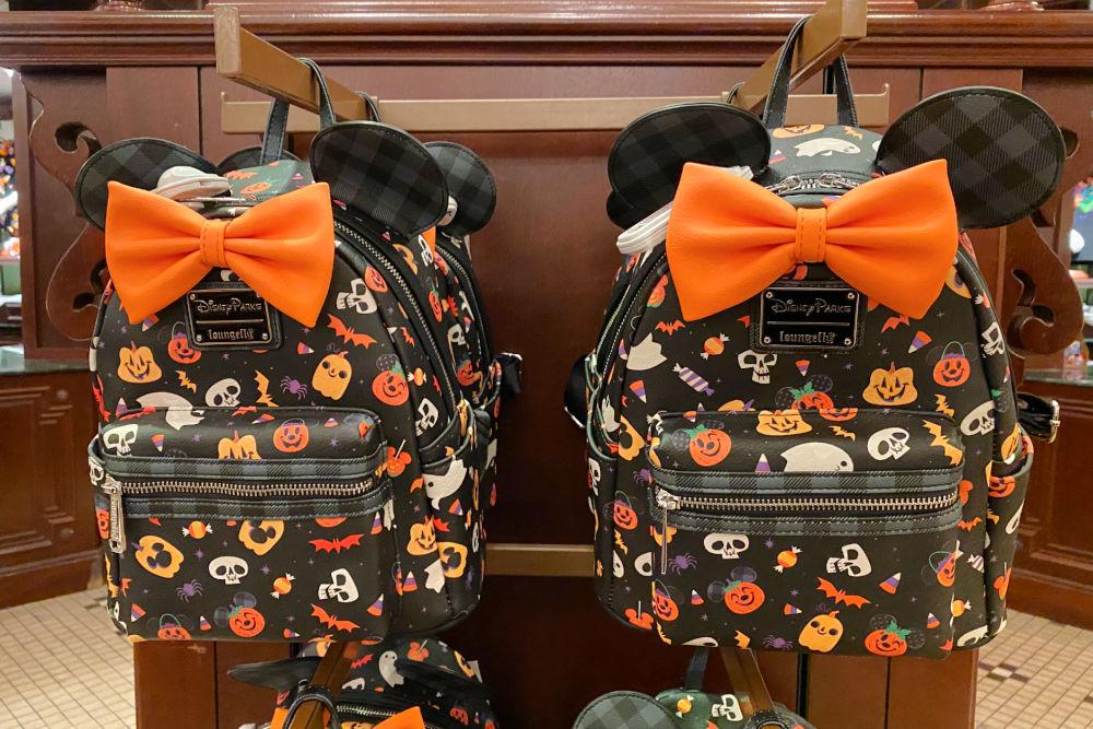 Disneyland Halloween Time Loungefly backpacks