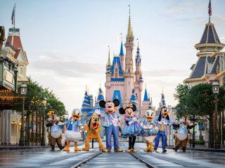 Walt Disney World 50th Castle Characters