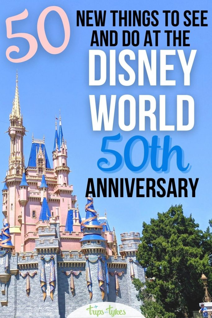 Visiting Walt Disney World in Orlando, Florida for the 50th anniversary celebration from 2021-2023? Here are 50 new rides, shows, restaurants, renovations, foods, merchandise offerings, and more available at the World's Most Magical Celebration.
