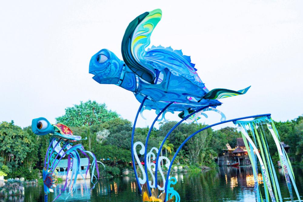 Disney World 50th Anniversary Animal Kingdom KiteTails