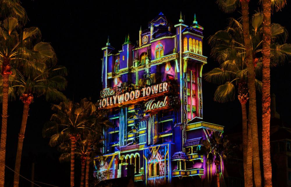 Disney World 50th Anniversary Beacons of Magic Tower of Terror Hollywood Studios