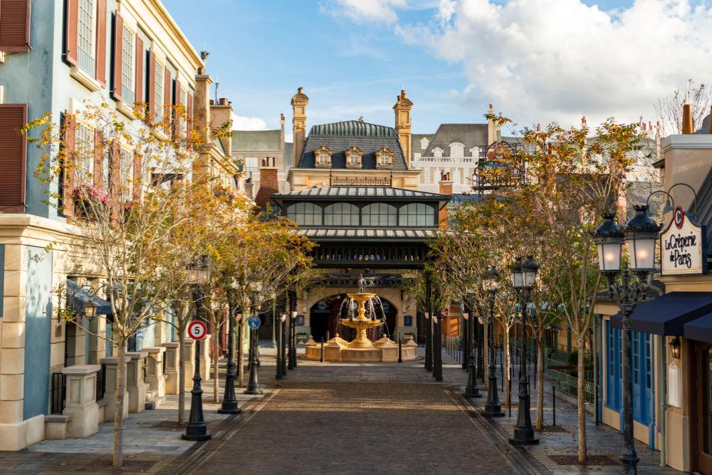 Disney World 50th Anniversary France Pavilion Epcot