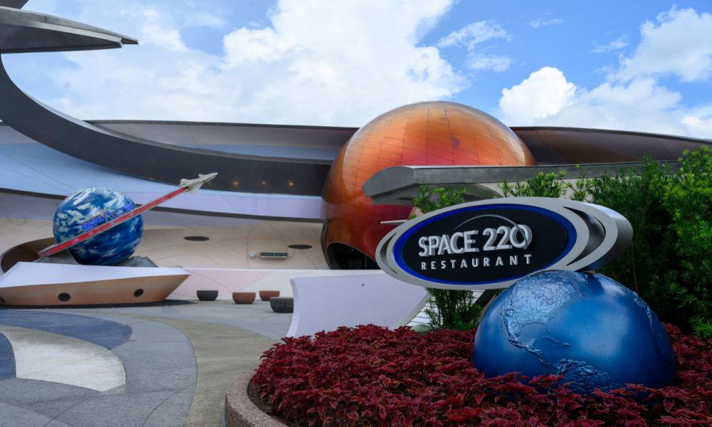 Disney World 50th Anniversary Space 220 Restaurant