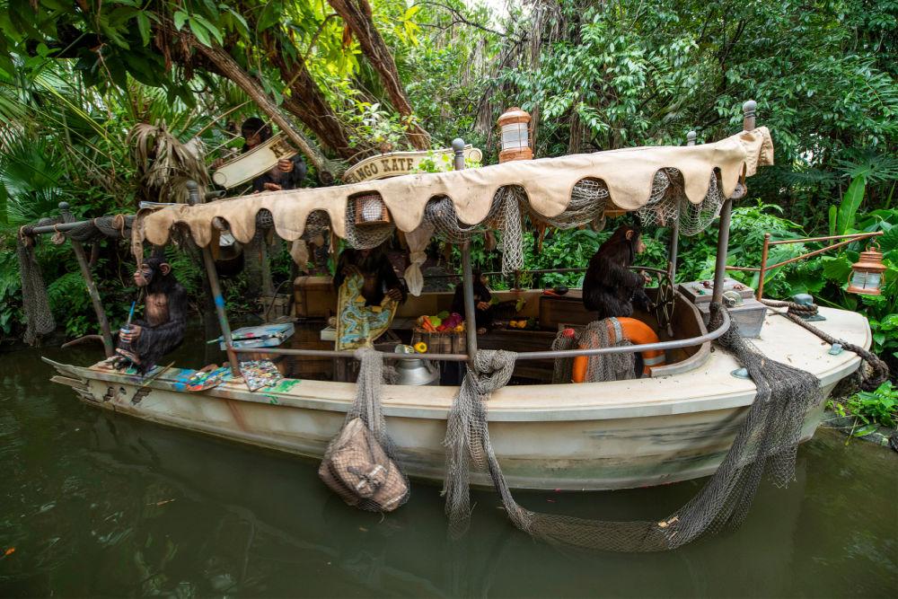 Disney World 50th Jungle Cruise Refurbishments
